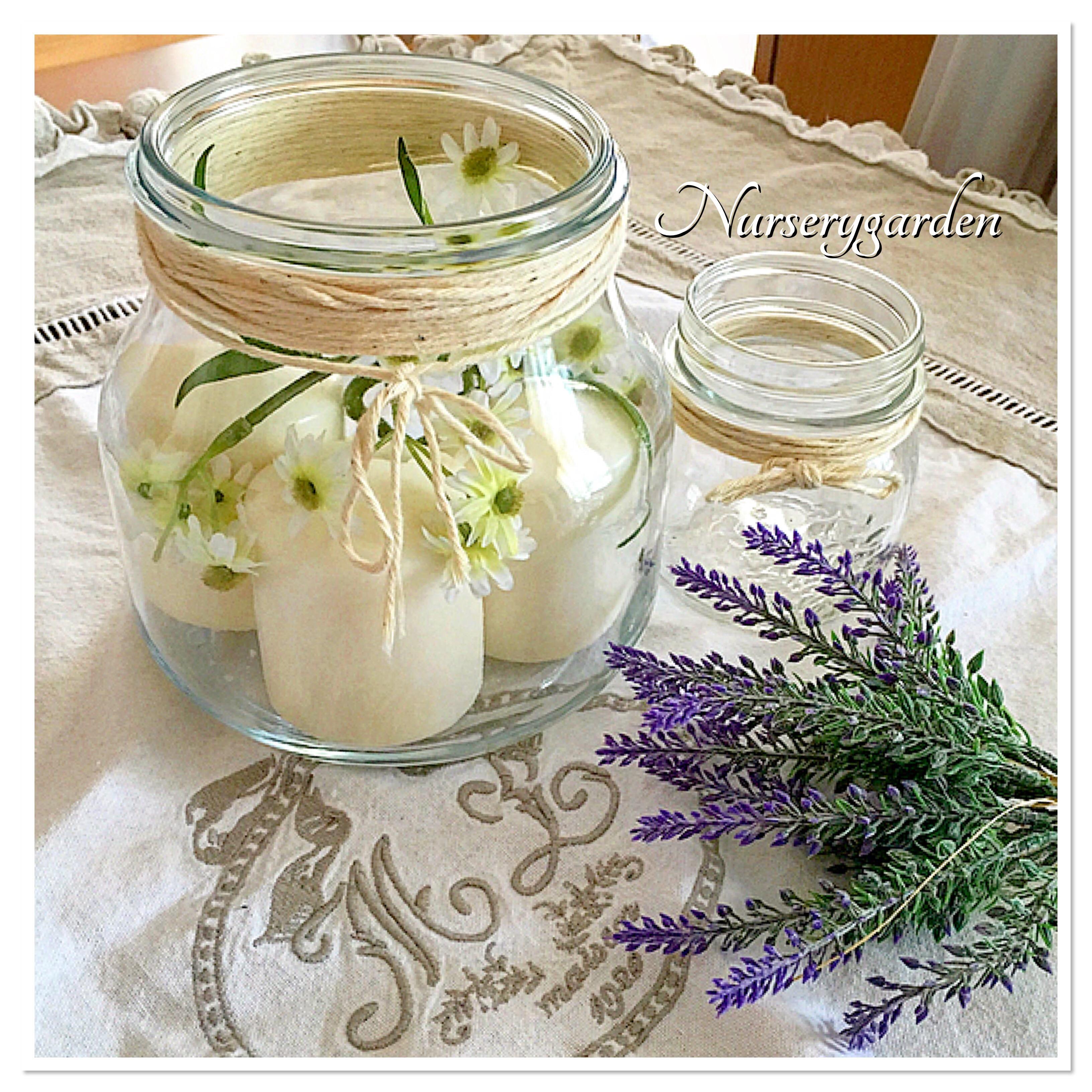 Decorazioni per la casa di primavera - Decorare casa con candele ...